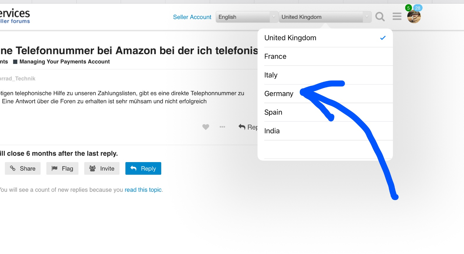 Amazon Seller Central Deutschland Telefonnummer