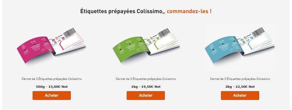 3643baa038986f Nouveau produit de la poste - cher pour les collisimo - Questions ...
