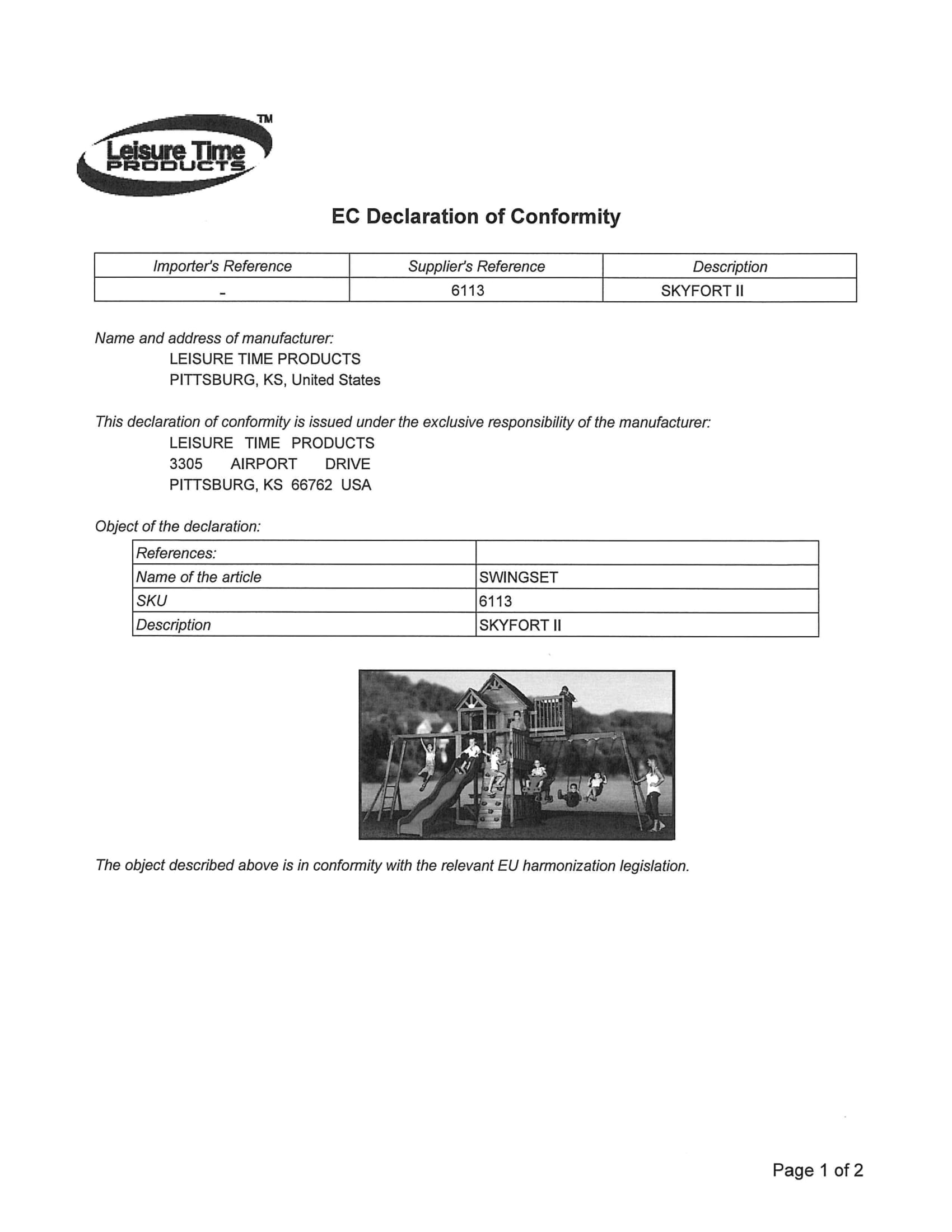 Need professional help for Declaration of Conformity - Sell on