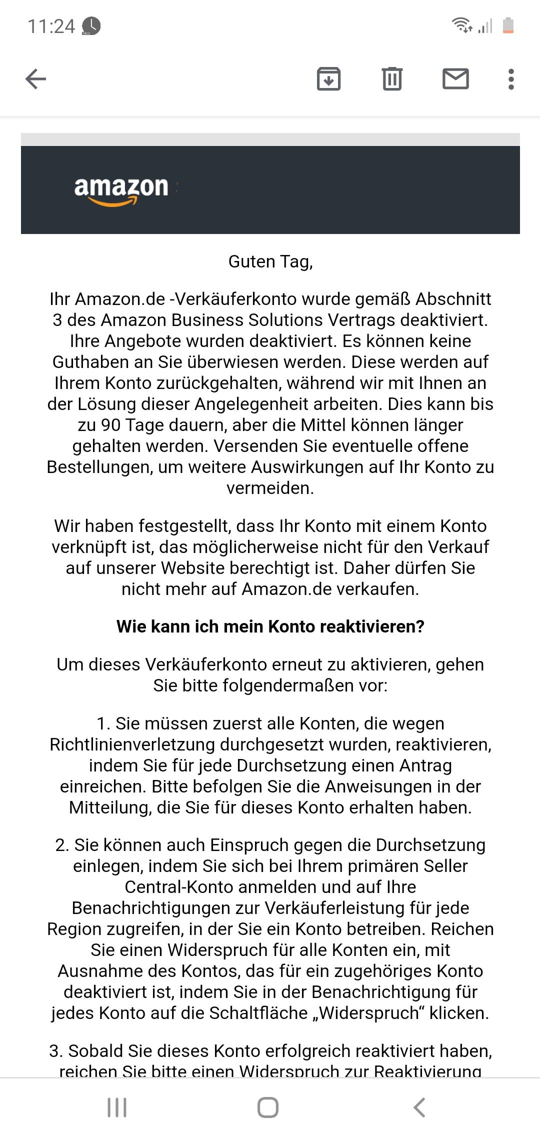 AMAZON SELLER KONTO ERSTELLEN